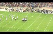 Embedded thumbnail for Jugador de futbol americano 'taclea' a espontáneo
