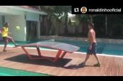 Embedded thumbnail for Conoce el 'Teqball', nuevo pasatiempo de Ronaldinho