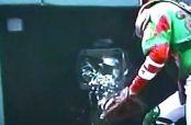 Embedded thumbnail for Pitcher mexicano rompe cámara en lanzamiento