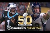 Embedded thumbnail for Madden 16 predice que Panteras será Campeón de Super Bowl 50