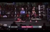 Embedded thumbnail for Boxeador Daniel Franco queda en coma tras recibir un derechazo