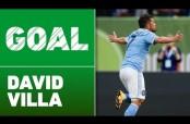 Embedded thumbnail for David Villa anota increíble gol de tijera en tiro de esquina