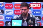 Embedded thumbnail for 'Sería decepcionante no ganar esta Final de CA': Messi