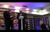 Embedded thumbnail for Momento del tiroteo en pesaje de boxeo en Irlanda