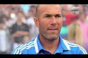 """Embedded thumbnail for """"No pensaba que pudiera ser un día entrenador"""": Zidane"""