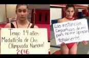Embedded thumbnail for Gimnastas denuncian falta de apoyo con campaña #YoSoyGanadora