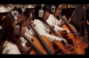 Embedded thumbnail for Chris Martin ensaya con orquesta previo al SB 50