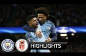 Embedded thumbnail for Revive los golazos del duelo entre Manchester City y Mónaco