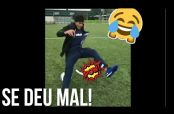Embedded thumbnail for 'Epic fail' de Neymar al intentar freestyle