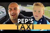 Embedded thumbnail for Guardiola sorprende a pequeño fan del City en un taxi