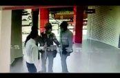 Embedded thumbnail for Intentan robar un banco pero les cierran la puerta en la cara
