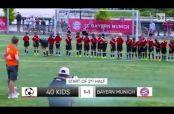 Embedded thumbnail for Vidal y Alonso se divierten y enfrentan en la cancha a 40 niños