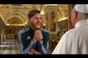 Embedded thumbnail for Messi pide milagro a Cristo para calificar a Rusia 2018