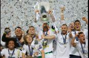 Sergio Ramos levanta la Champions League tras vencer en penaltis al Atlético