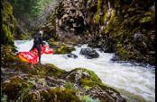 El kayakista Rafael Ortiz realizó una hazaña insólita