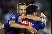 Messi, el gran protagonista del partido contra Juventus