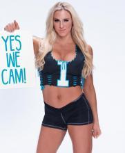 Charlotte, campeona de las Divas, apoya a las Panteras