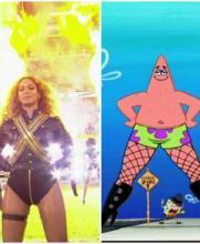 ¿Beyoncé le copió el atuendo a Patricio?