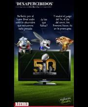 El Super Bowl 50 le quitó reflectores a Chivas, Cruz Azul y Pumas
