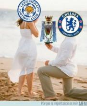 Chelsea iguala con Tottenham... The Foxes es Campeón