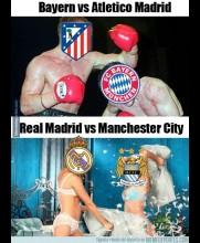 Duelos de contrastes en Champions