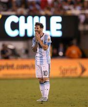 Messi lamenta su falla en la tanda de penaltis
