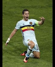 Hazard puso la magia para destrabar el juego contra Hungría