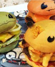 Las 'pokéburgers' están a la venta en un restaurante de Sídney, Australia
