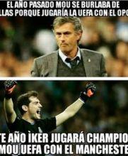 Mala suerte de Mourinho
