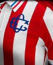 El uniforme luce el escudo del Club Unión