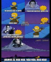 'El Divo de Juárez' también fue despedido al estilo de Los Simpson