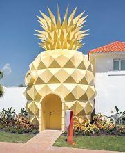 En República Dominicana, Nickelodeon construyó un hotel similar a la casa de Bob Esponja