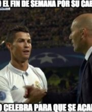CR7 festeja su gol con Zidane para callar los rumores