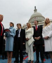 Trump protesta como presidente de EU