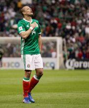Chicharito se convirtió en el máximo goleador del Tri junto a Borgetti