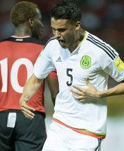Diego Reyes estalló tras anotarle a Trinidad y Tobago
