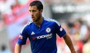 Hazard, en un partido del Chelsea
