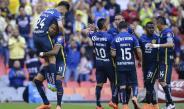 Americanistas festejan gol contra Santos