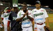 Jugadores de los Venados de Mazatlán tras ganar el partido