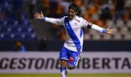 Alustiza celebra su gol en contra de Racing