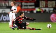 Hernández, en el juego contra Werder Bremen