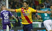 Alejandro Gagliardi celebra su gol frente a León