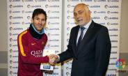 Messi es reconocido como el mejor del mes de enero