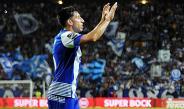 Herrera celebra su gol con el Porto