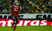Dayro Moreno festeja un gol con Xolos