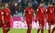 Jugadores del Bayern Munich se lamentan