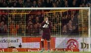 Arquero del NAC Breda no contuvo las lágrimas