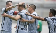 Americanistas festejan gol contra Monterrey