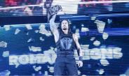 Roman Reigns durante un show de la WWE