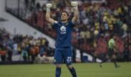 Moisés Muñoz celebra en victoria de América contra Santos
